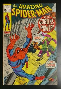 Amazing-Spider-Man-98-Marvel-Comic-1971-Drug-Story-Green-Goblin-Appearance