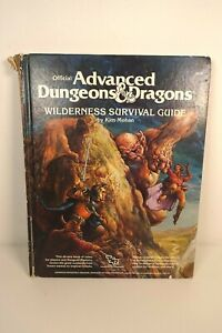 Advanced Dungeons and Dragons - Wilderness Survival Guide - 2020 AD&D