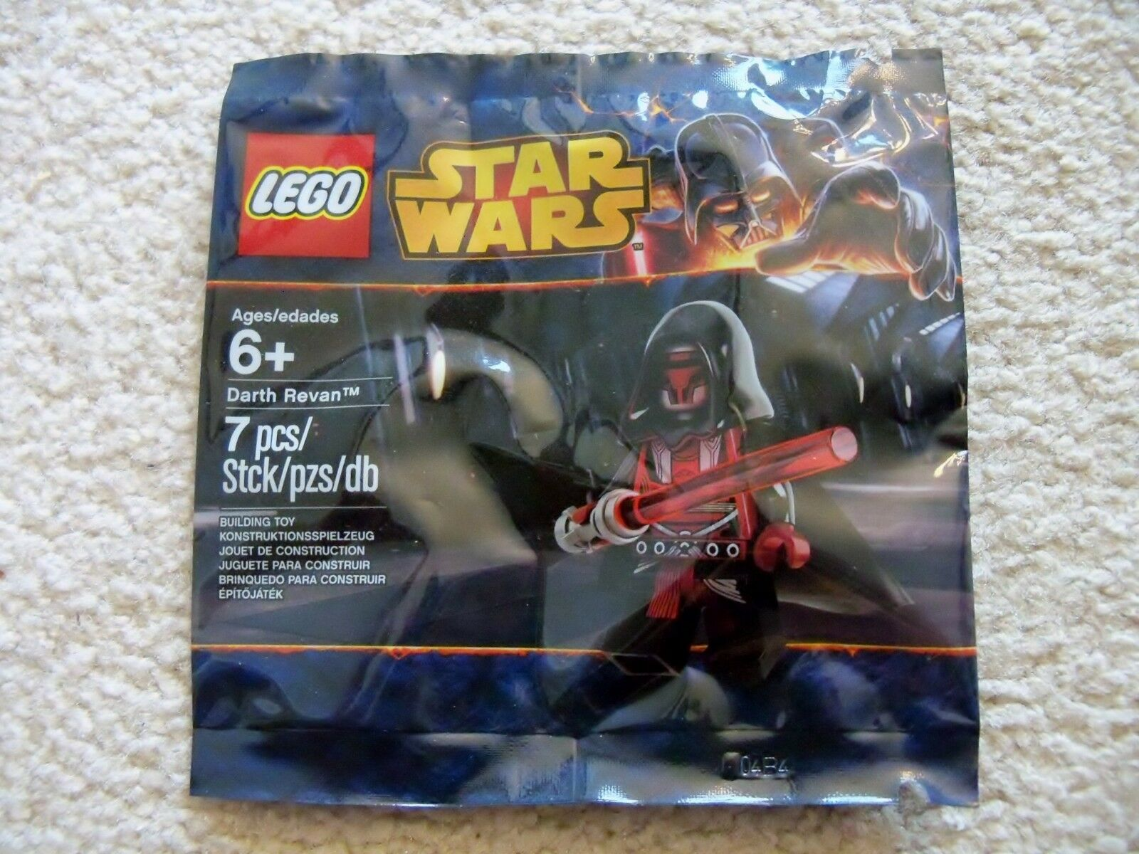 LEGO Star Wars Old Republic - Super Rare - Darth Revan 5002123 - New & Sealed