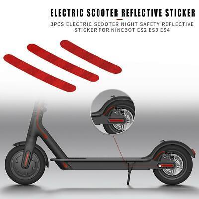 For Ninebot Sticker ES1 ES2 ES3 ES4 E22 E25 Electric Scooter Night safety