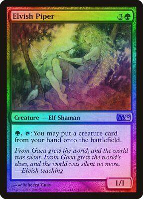 Elvish Visionary FOIL Magic 2010 M10 NM Green Common MAGIC MTG CARD ABUGames
