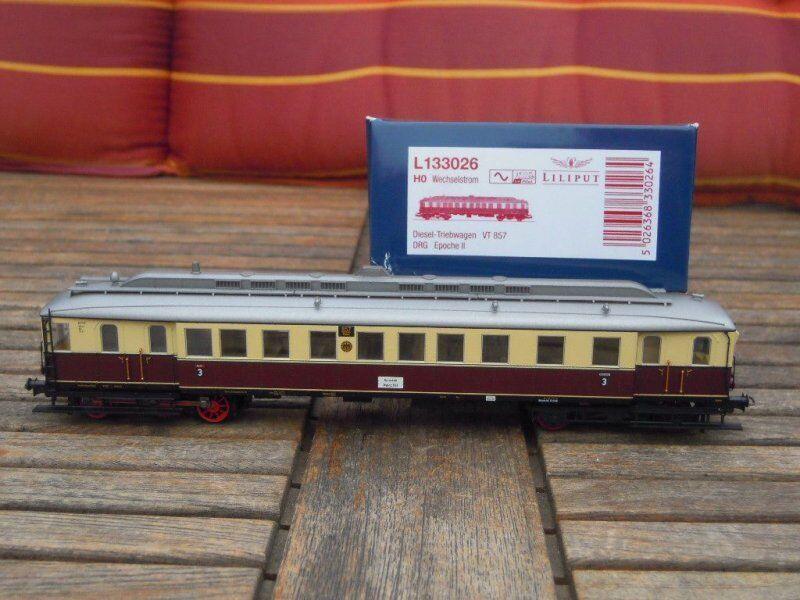 Liliput 133026 Motore Diesel auto VT 857 della DRG ep.2 per AC 3-capo, nuovo, digitale