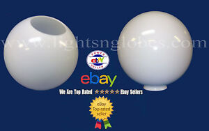 12 white acrylic plastic globe outdoor lighting post pole opening image is loading 12 034 white acrylic plastic globe outdoor lighting mozeypictures Gallery