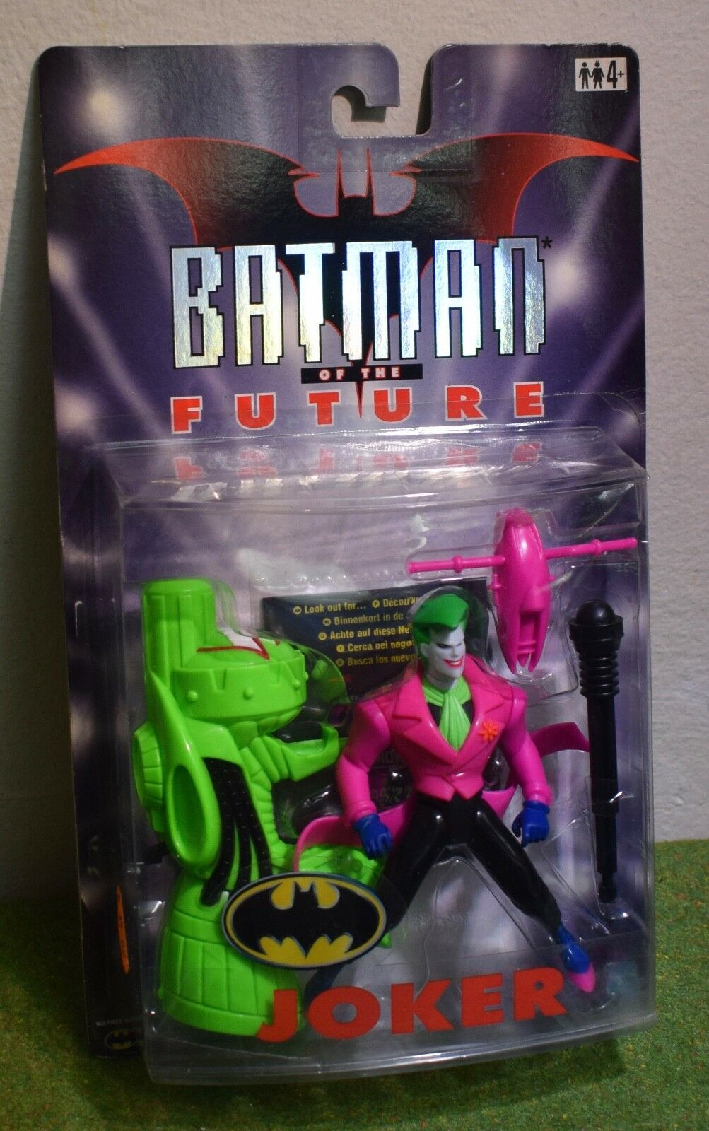 Hasbro batman der zukunft joker action - figur
