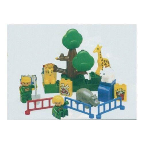 LEGO 1689 - Duplo  Basic Set -  Zoo Babies - 1991 Complete - NO TUB