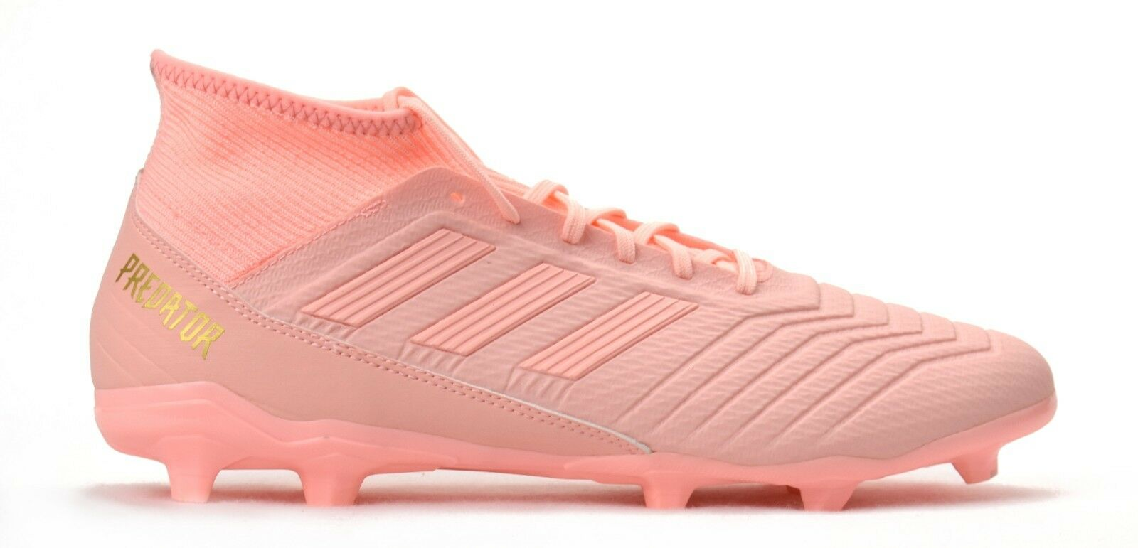 988adee32 NEW ADIDAS PREDATOR 18.3 FG MEN S SOCCER CLEATS CLEAR orange PINK FIRM  GROUND