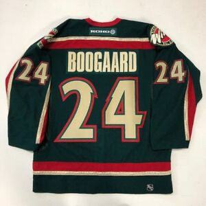 b8283d39b Image is loading DEREK-BOOGAARD-MINNESOTA-WILD-AUTHENTIC-KOHO-NHL-JERSEY-