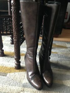 Hugo boss Ladies Boots new leather size