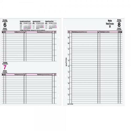 bind Kalendereinlage 2020 A5-1 Tag//1 Seite