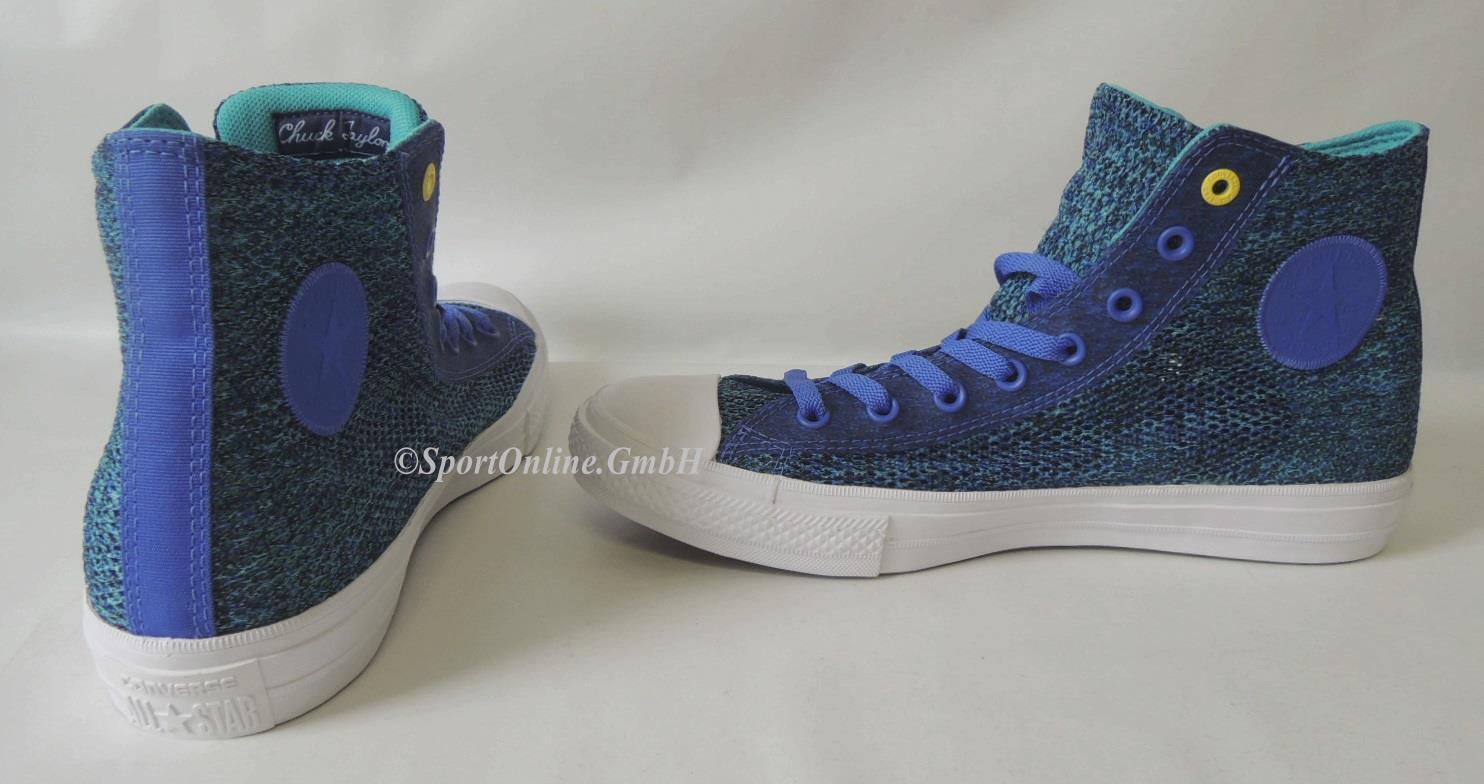 NEU Converse CT II Hi Gr 44 Chuck Taylor Chucks All Star Lunarlon Schuhe Sneaker