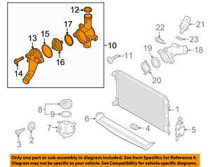 volkswagen jetta 2 5 engine diagram vw volkswagen oem 05 14 jetta 2 5l l5 radiator thermostat unit  vw volkswagen oem 05 14 jetta 2 5l l5