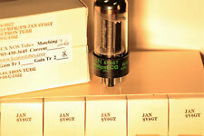 NOS JAN Philips 6V6GT Vacuum Tubes MATCHED PAIR