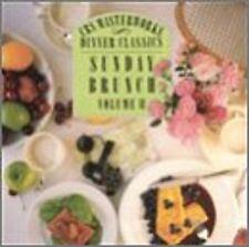 CBS Masterworks Dinner Classics: Sunday Brunch Vol 2 Various Artists CD FBC38