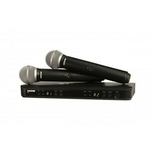 Shure-BLX288-PG58-Dual-Vocal-Wireless-System-NEW