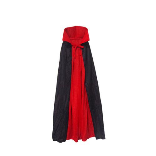 Funny Halloween Kids Cape Cloak Vampire Magician Costume Accessories Props Gift