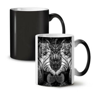 Tiger Wild Beast NEW Colour Changing Tea Coffee Mug 11 oz | Wellcoda