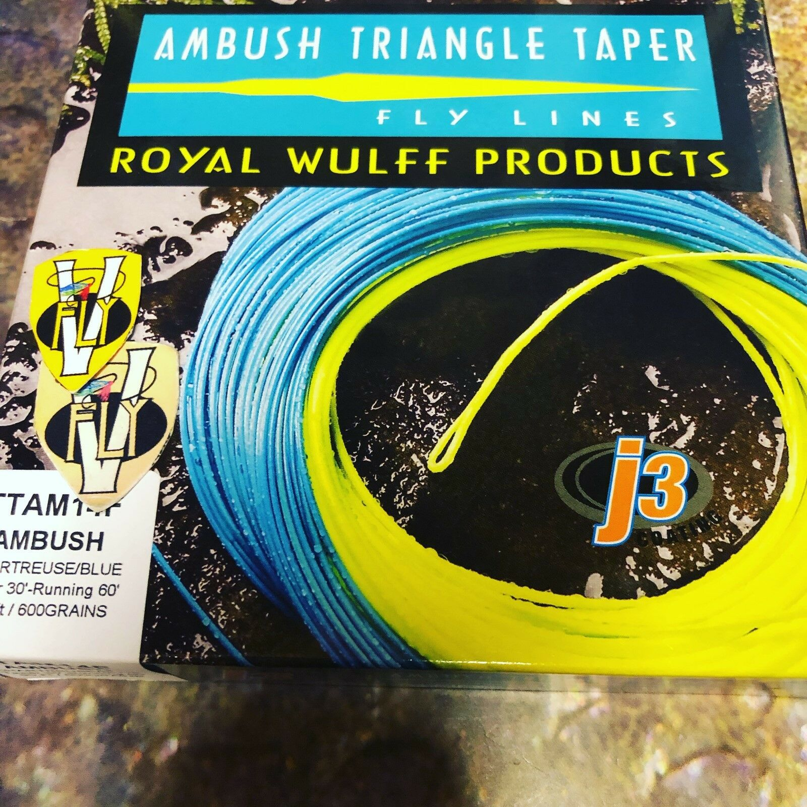 Royal Wulff Triangle Triangle Triangle Taper Ambush Integrated Skagit Floating Fly Line All Größes dedfbb