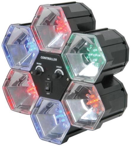 QTX 153.002 léger 6 lumières led façon parti activé sonore ou séquence chase
