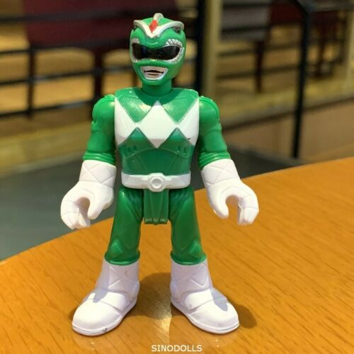 Imaginext Power Rangers Green Ranger from Mighty Morphin Fisher-Price figure toy