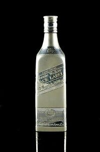 Jewelry & Watches Solid Sterling Silver 775gm Black Label Whiskey Flask 12 X 3 Inches Kjf0121 Flasks