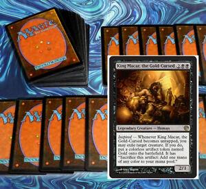 mtg-MODERN-BLACK-DECK-Magic-the-Gathering-rare-60-cards-king-macar-gonti