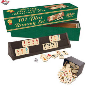 Details About 101 Rummy Plus Set Rummikub Tile Game Star Rumy With Tiles New In The Box New