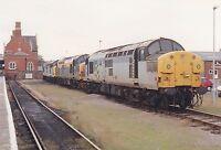British Rail 37109  Hereford 6x4 inch Rail Photo