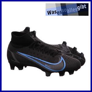 SCHNÄPPCHEN! Nike Mercurial Superfly 8 Pro FG \ schw./blau \ Gr.: 41 \ #FU 22086