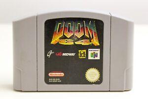 Doom 64 ⭐ n64 ⭐ Nintendo 64 ⭐ pal ⭐ 3d-Shooter ⭐ clásicos ⭐ culto juego ⭐