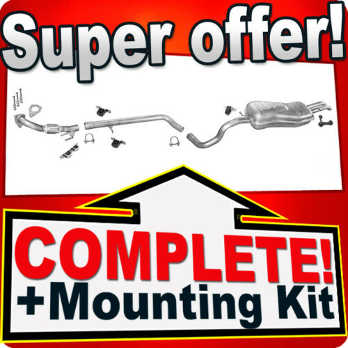 SEAT TOLEDO II 1.9 TDI Pipe Silencer Exhaust System H08A