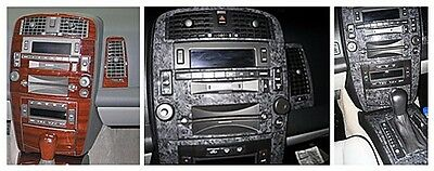 DASH TRIM KIT SET for Cadillac SRX with CD and cassette player 04-06 Interior