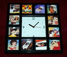 1960s Speed Racer X Trixie Pops Clock with 12 pictures