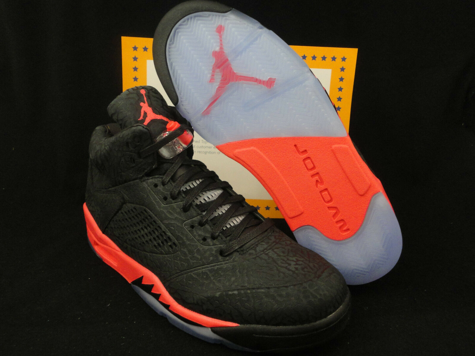 Nike Air Jordan 3LAB5, Jordan 5 V, Size 14, Black Infrared 23