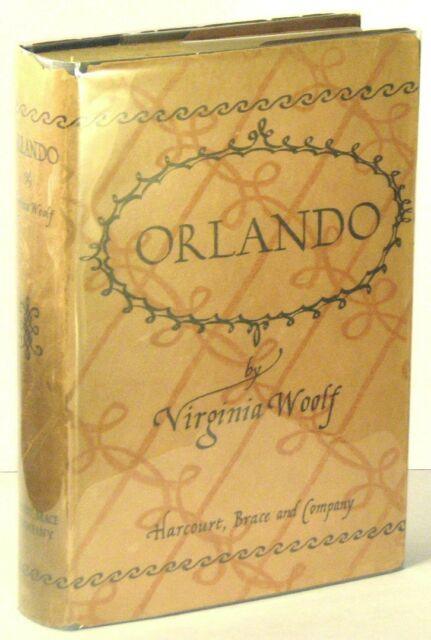 ORLANDO: A BIOGRAPHY, 1ST US ED IN SCARCE JACKET, 1928, VIRGINIA WOOLF