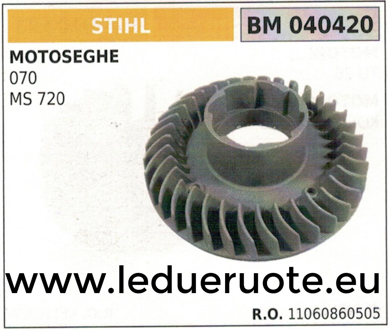 11060860505 VOLANO MAGNETICO magnete ventola MOTOSEGA STIHL 070 MS 270