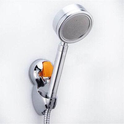 New Aluminum Bathroom Sprinkler Base Adjustable Shower Head Holder Suction Cup
