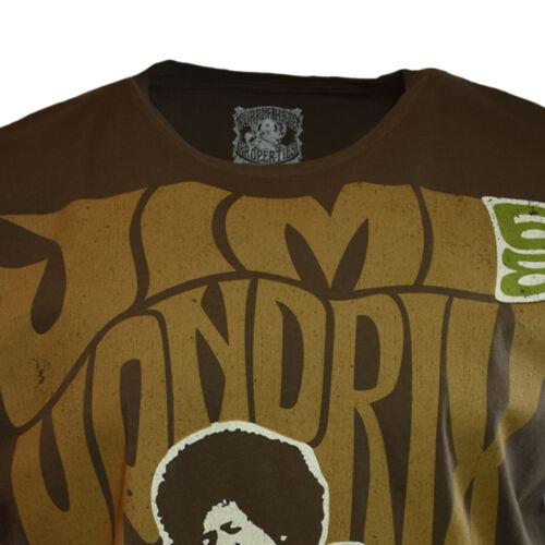 JIMI HENDRIX Mens Tee T Shirt HEY JOE 1968 Rock Music Vintage Guitar NEW
