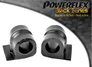 PFF80-403-24BLK Powerflex Front Anti Roll Bar Mount 24mm BLACK Series (2 in Box)