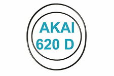 COURROIES SET AKAI GX 620 D MAGNETOPHONE A BANDE EXTRA FORT NEUF FABRIQUE 620D