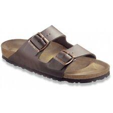 db363a3e879 Birkenstock Arizona Sandals - narrow regular - blue brown black white Birko- Flor