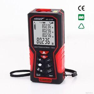 Handheld Digital Laser Point Distance Meter Measure Tape Range Finder 40/70/100m