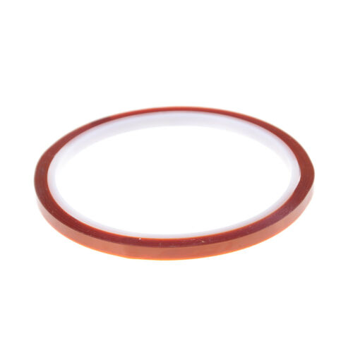 5mm X 33m Heat Resistant High Temperature Polyimide Adhesive Tape Tawny S Tw