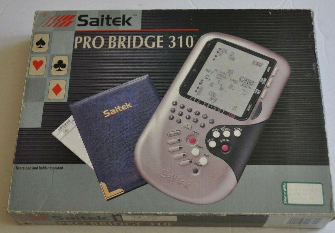 SAITEK PRO BRIDGE 310 Electronic Game w  BOX