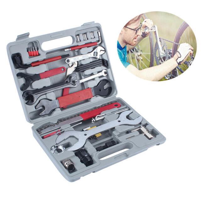 Boîte à outils Réparation Vélo MTB VTT Chaîne Roue Libre Extracteur Démonte kit