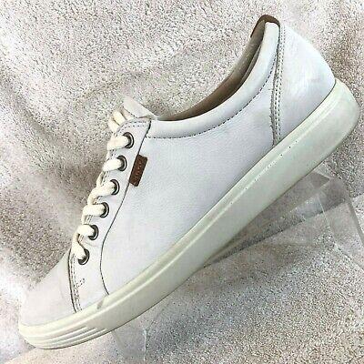 Ecco Danish Design White Leather