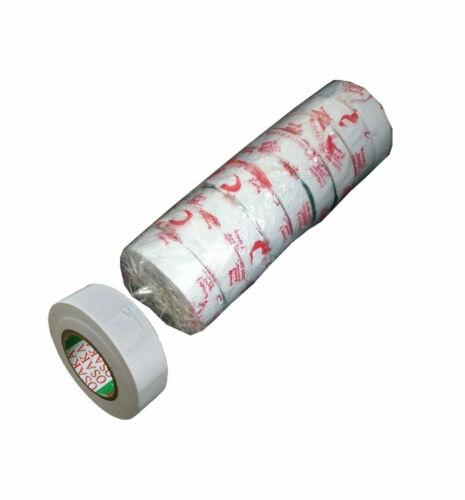 White Tennis Ball Tape PVC Cricket Ball Tape Black Sports Rolls Tape Accessory