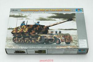 Trumpeter-1-35-00354-German-Panzerjager-39-H-w-PAK-40