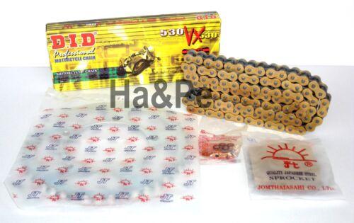 * yamaha yzf 600 thunder CAT DID kettensatz Chain Kit vx 530 G /& B Gold 1997-01