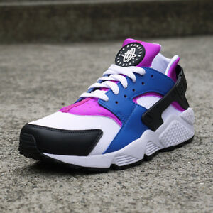 18e91c4c236b Nike Air Huarache 318429-415 Men s Athletic Shoes Blue Jay White ...