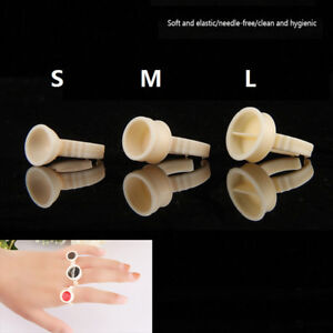 100xdisposable-permanent-makeup-ring-silicone-tattoo-ink-pigment-cup-holder-0TW
